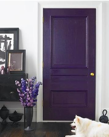 Pintar una puerta